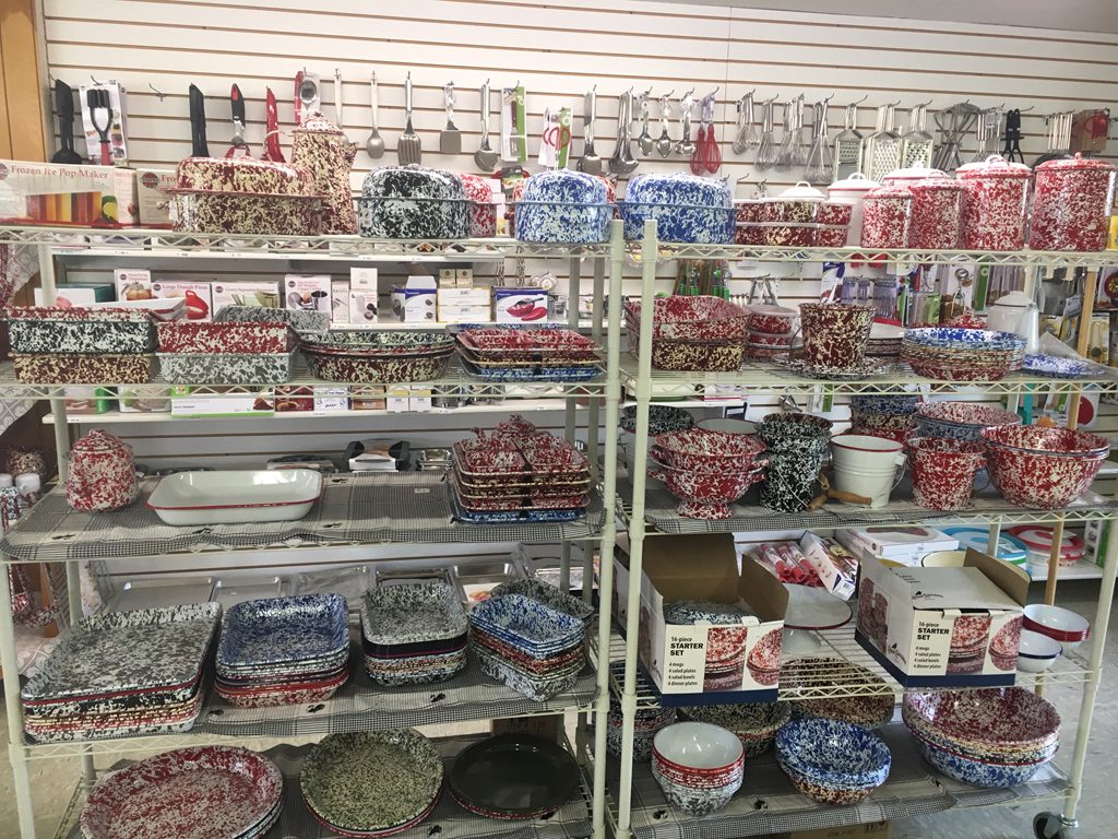 Stoplight Market carries a large selection of Crow Canyon Home enamelware/splatterware items